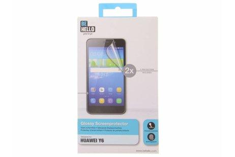 Be Hello Glossy Screen Protector voor de Huawei Y6