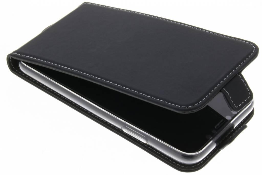 Accezz Flipcase voor iPhone X / Xs - Zwart