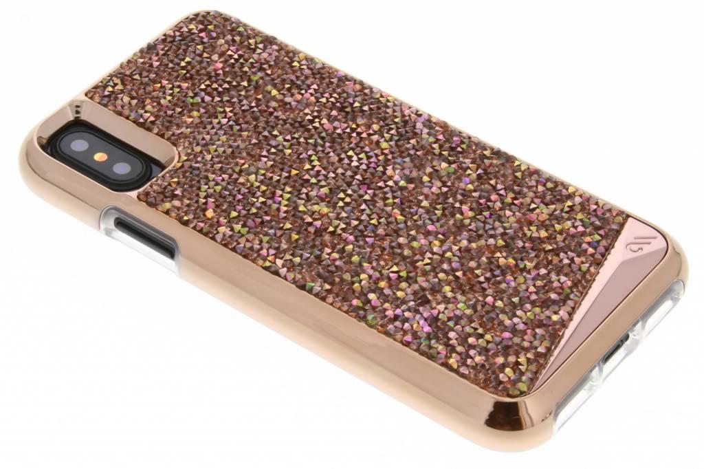 Case-Mate Brilliance Premium Backcover voor iPhone X / Xs - Rosé goud