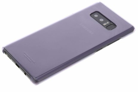 Samsung Clear Hardcase Backcover voor Samsung Galaxy Note 8 - Grijs