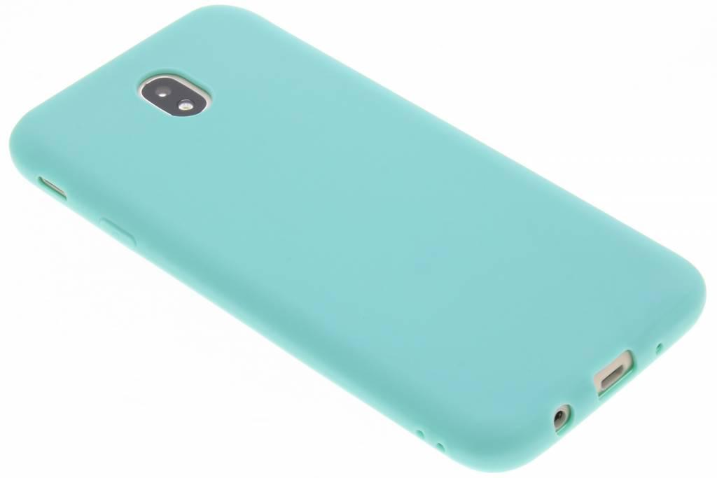 Color Backcover voor Samsung Galaxy J7 (2017) - Mintgroen