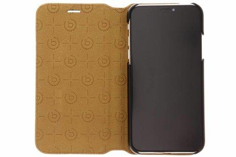 Bugatti Parigi Booktype voor iPhone X / Xs - Bruin