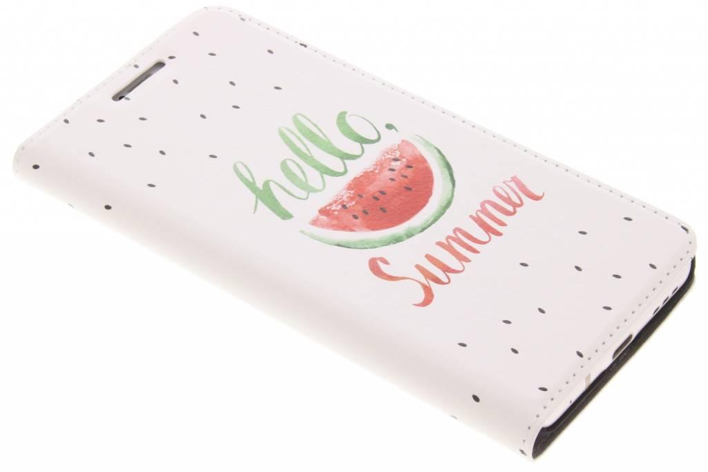 Design Hardcase Booktype voor LG G6 - Watermeloen