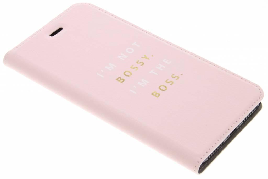 Design Hardcase Booktype voor iPhone 8 Plus / 7 Plus - Bossy
