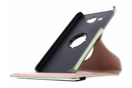 360° Draaibare Glamour Bookcase voor Samsung Galaxy Tab A 7.0 (2016) - Groen