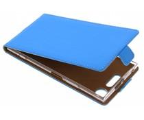 Selencia Luxe Softcase Flipcase Sony Xperia XZ1