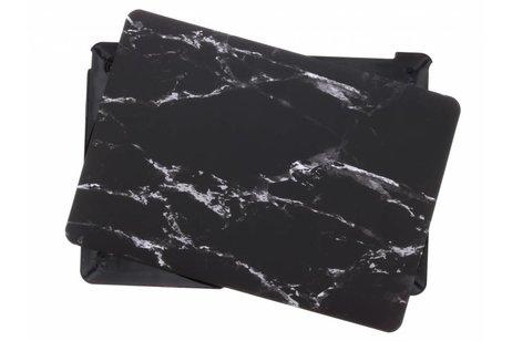 Design Hardshell Cover voor MacBook 12 inch - Marmer Zwart
