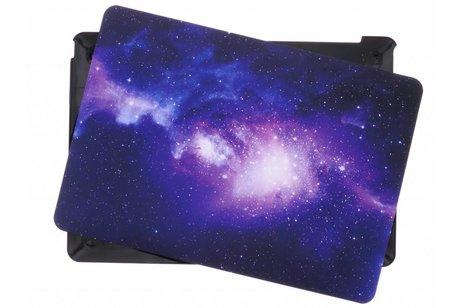Design Hardshell Cover voor MacBook 12 inch - Sterren Paars