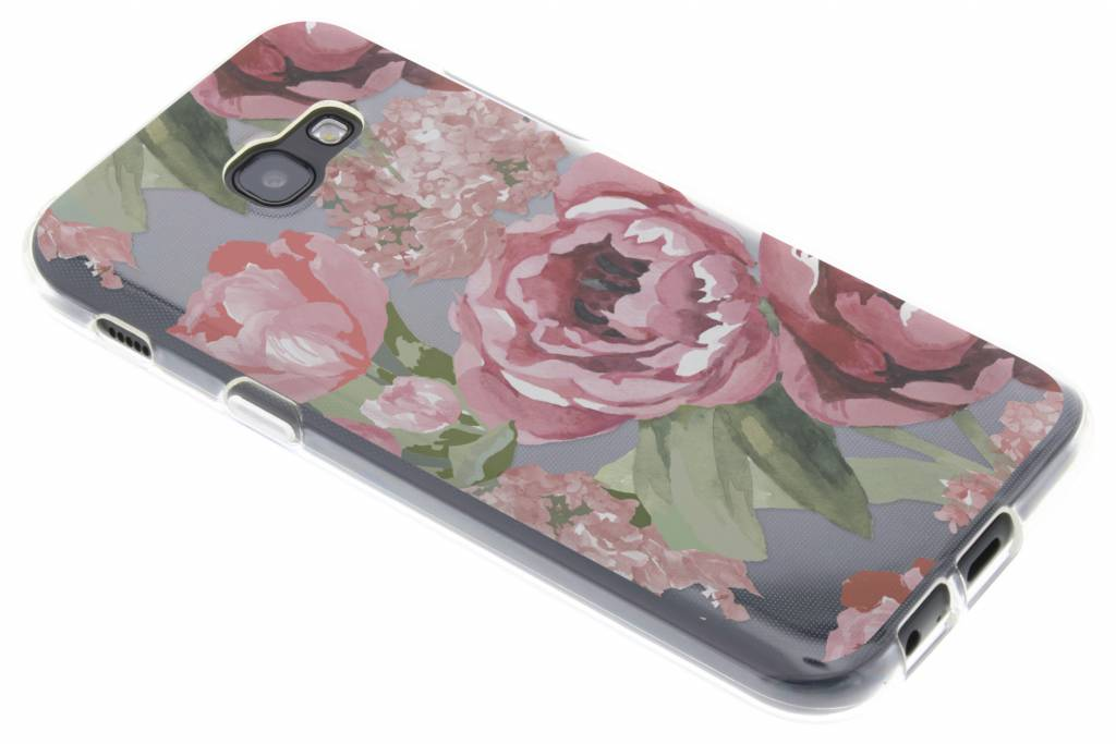 Design Backcover voor Samsung Galaxy A5 (2017) - Romantic Bloemen
