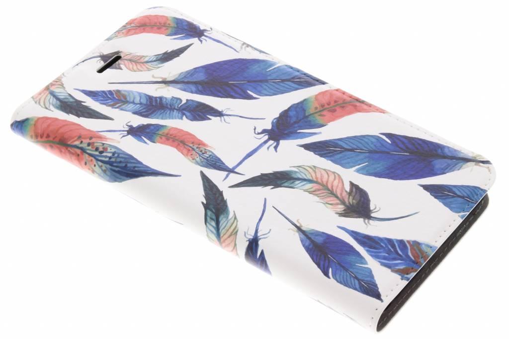 Design Hardcase Booktype voor Asus ZenFone 3 Zoom / Zoom S - Ibiza Feather