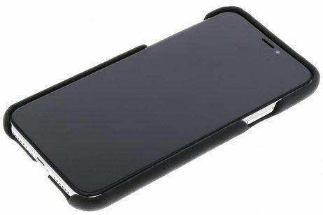 Valenta Classic Luxe Backcover voor iPhone X / Xs - Zwart