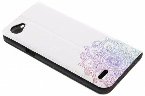 LG Q6 hoesje - Design Hardcase Booktype voor