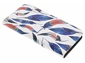 Design Hardcase Booktype voor LG Q6 - Ibiza Feather