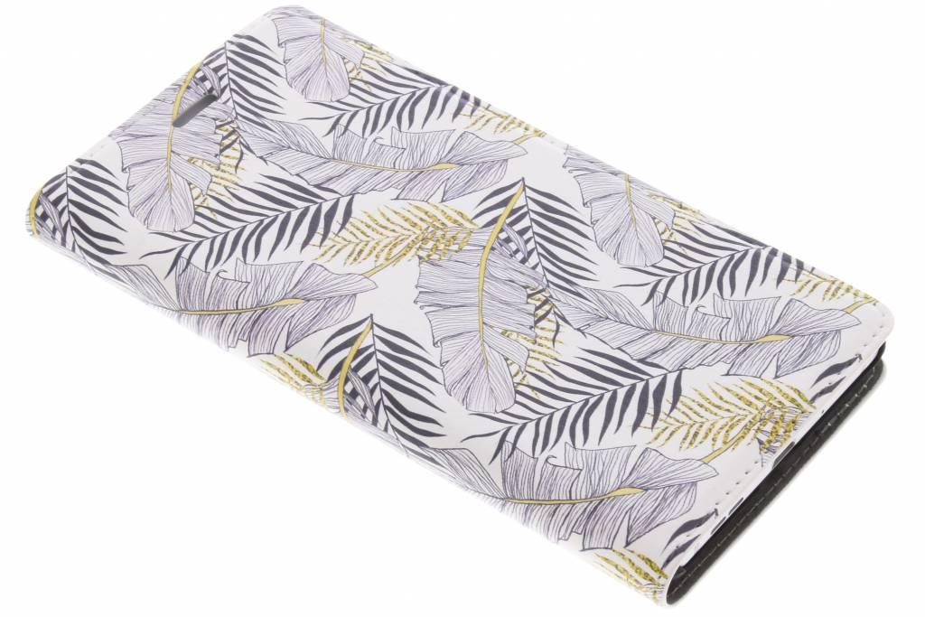 Design Hardcase Booktype voor Nokia 3 - Glamour Botanic