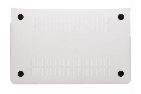 Design Hardshell Cover voor MacBook Air 11.6 inch - Wit Marmer