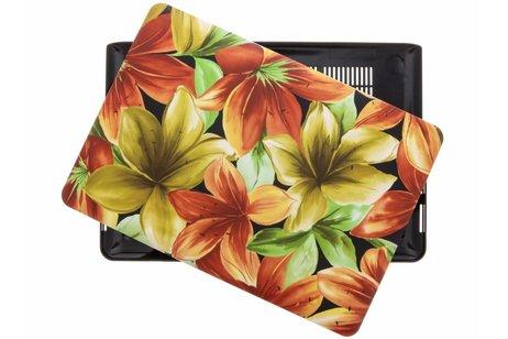 Design Hardshell Cover voor MacBook Pro Retina 13.3 inch 2013-2015 - Bloemen Geel