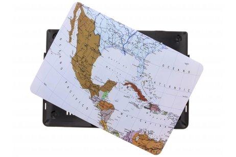 Design Hardshell Cover voor MacBook Pro Retina 13.3 inch Touch Bar - Wereldkaart