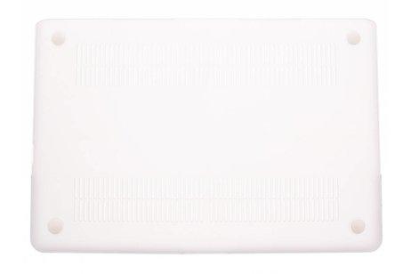 Design Hardshell Cover voor MacBook Pro 15.4 inch - Wit Marmer