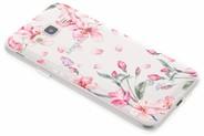 Design Backcover voor Samsung Galaxy J3 / J3 (2016) - Bloesem Watercolor