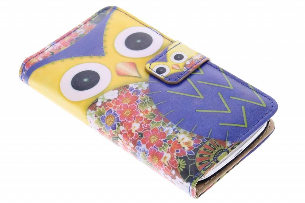 Uil design booktype hoes voor de Samsung Galaxy Core