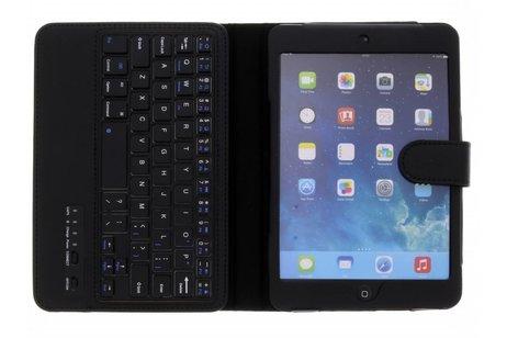 Bluetooth Keyboard Bookcase voor iPad Mini / 2 / 3 - Zwart