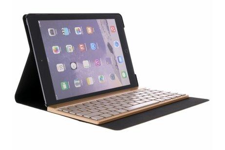 Bluetooth Keyboard Bookcase voor iPad (2018) / (2017) / Air (2) - Rosé Goud
