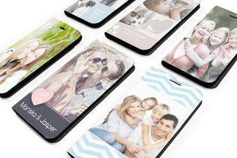Ontwerp uw eigen Motorola Moto Z2 Play booktype hoes