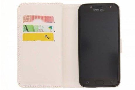 Design Portemonnee 9 slots voor Samsung Galaxy J5 (2017) - Pauw Goud