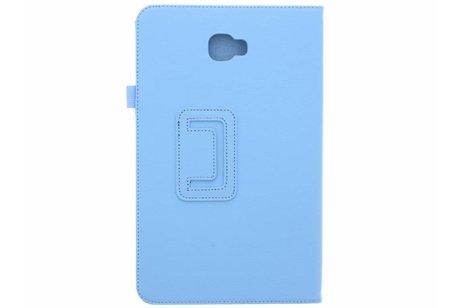 Effen Bookcase voor Samsung Galaxy Tab A 10.1 (2016) - Lichtblauw