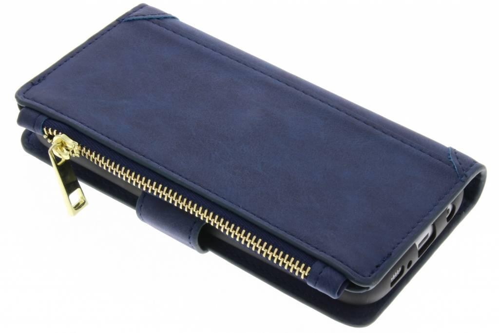 Luxe Portemonnee voor Samsung Galaxy Note 8 - Donkerblauw
