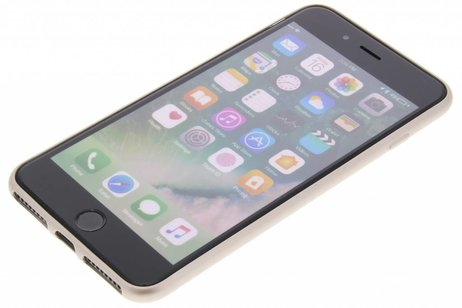 Be Hello Gouden Soft Touch Gel Case voor de iPhone 8 Plus / 7 Plus / 6(s) Plus