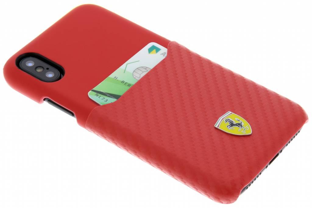 Carbon Card Hardcase iPhone Xs / X