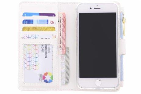Design Luxe Portemonnee voor iPhone 8 / 7 - Smile