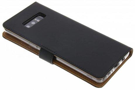 Selencia Luxe Softcase Booktype voor Samsung Galaxy Note 8 - Zwart
