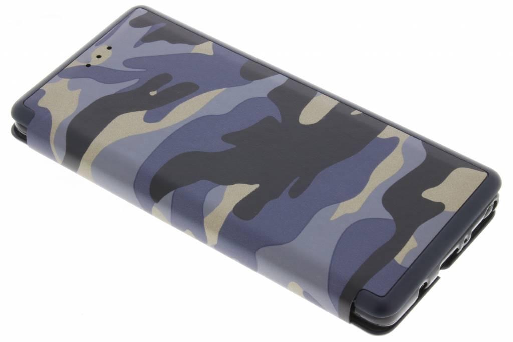 Army Slim Folio Booktype voor Samsung Galaxy Note 8 - Blauw