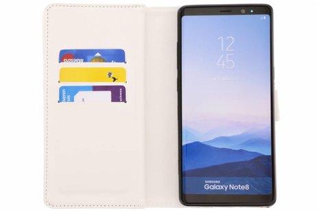 Design Portemonnee 9 slots voor Samsung Galaxy Note 8 - Vlinders