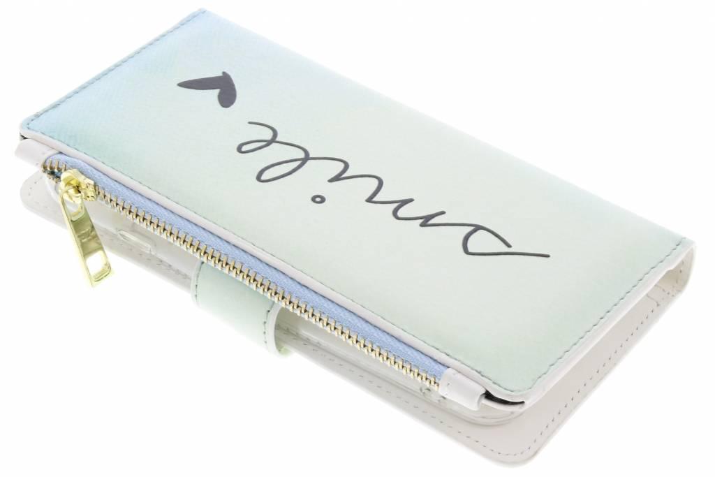 Design Luxe Portemonnee voor General Mobile GM6 - Smile
