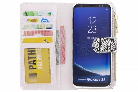 Samsung Galaxy S8 hoesje - Design Luxe Portemonnee voor