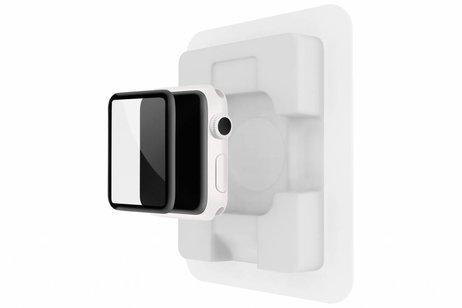 Belkin Zwarte Screenforce® Ultracurve Screenprotector voor de Apple Watch 42 mm - Series 1