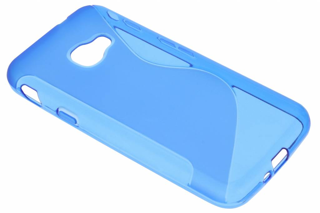 S-line Backcover voor Samsung Galaxy Xcover 4 - Blauw