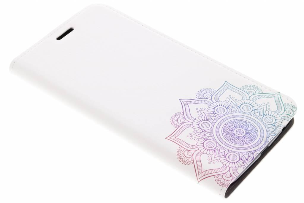Design Hardcase Booktype voor Motorola Moto Z2 Play - Mandala Multicolor