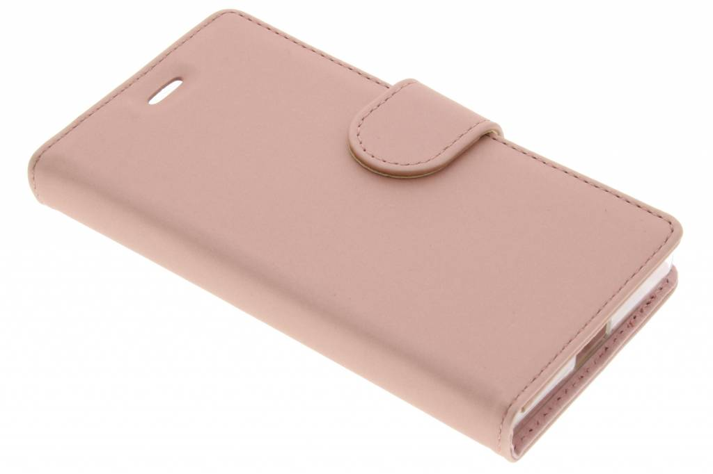 Accezz Wallet Softcase Booktype voor Sony Xperia X Compact - Rosé goud
