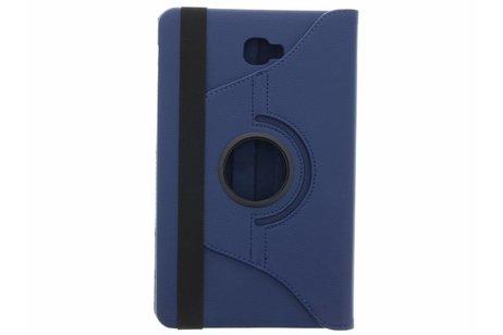 360° Draaibare Bookcase voor Samsung Galaxy Tab A 10.1 (2016) - Donkerblauw