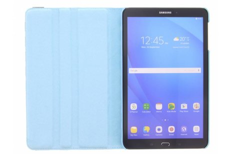 360° Draaibare Bookcase voor Samsung Galaxy Tab A 10.1 (2016) - Lichtblauw