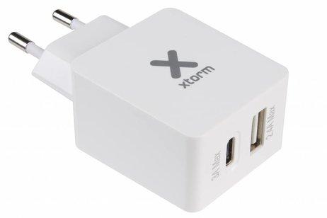 Xtorm AC Adapter USB + USB-C - 5,4 ampère
