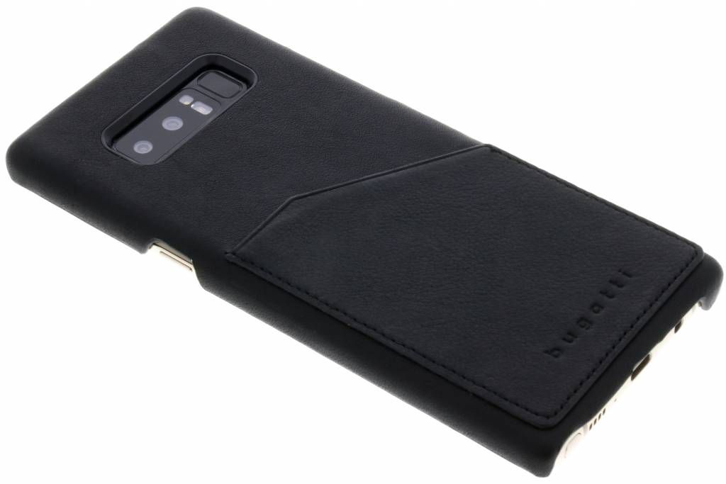 Bugatti Londra Backcover voor Samsung Galaxy Note 8 - Zwart