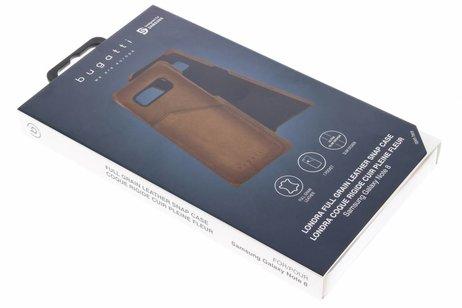 Bugatti Londra Backcover voor Samsung Galaxy Note 8 - Bruin