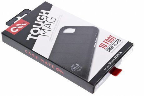 Case-Mate Tough Mag Backcover voor iPhone 8 / 7 / 6s / 6 - Zwart