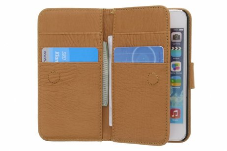 Portemonnee Hoes 11-vaks voor iPhone SE / 5 / 5s - Bruin