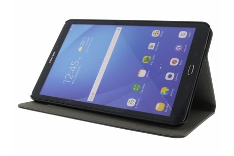 Gecko Covers Easy-Click Bookcase voor Samsung Galaxy Tab A 10.1 (2016) - Zwart